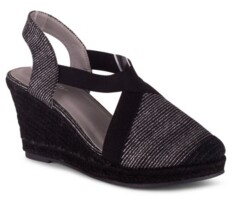 Wanted Essence Women's Closed Toe Wedge Sandal Women's Shoes