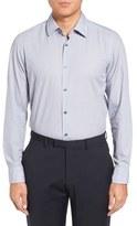 BOSS T-Landon Trim Fit Sport Shirt