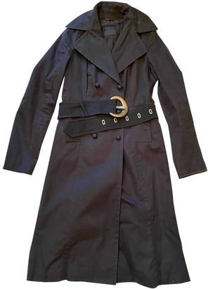 CNC Costume National Black Cotton Coats