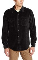 True Grit Men's Best Stretch Cord Long Sleeve Two-Pocket Shirt