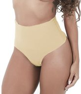 NINGMI Women's Shapewear Thong Brief Seamless Hi-Waist Tummy Control Panty