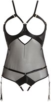 Bordelle Art Deco Ouvert Bodysuit