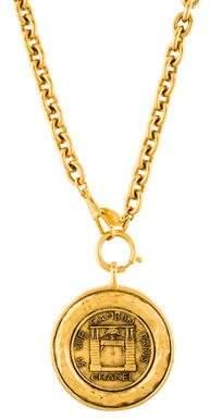 Chanel 31 Rue Cambon Paris Pendant Necklace