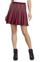 BCBGMAXAZRIA Yaz Piping-Trim A-Line Skirt