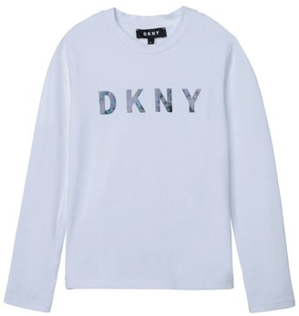 DKNY Logo T-Shirt (6-16 Years)
