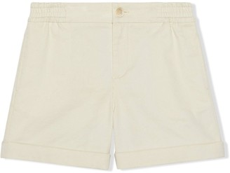 Gucci Kids Button-Front Shorts