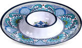 Certified International Talavera Melamine Chip & Dip Server