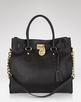 Hamilton Chain Leather Tote