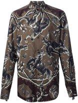 Dolce & Gabbana horse print shirt