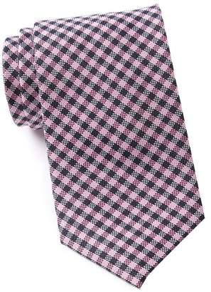 Tommy Hilfiger Textured Plaid Tie