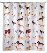 Avanti Dogs on Parade Shower Curtain