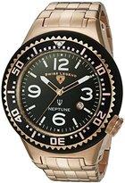 Swiss Legend Men's 'Neptune Force' Swiss Quartz Stainless Steel Casual Watch (Model: 21819P-RG-11)