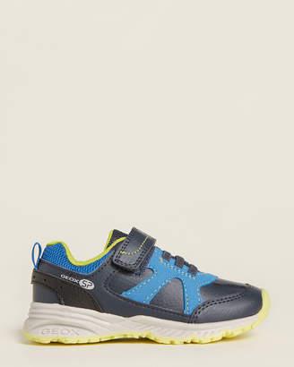 Geox Toddler Boys) Navy & Royal Bernie Running Sneakers