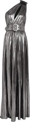 retrofete Andrea One-Shoulder Lame Gown