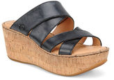 Børn Kapiti Leather Platform Sandals