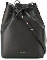 Mansur Gavriel two-tone bucket shoulder bag