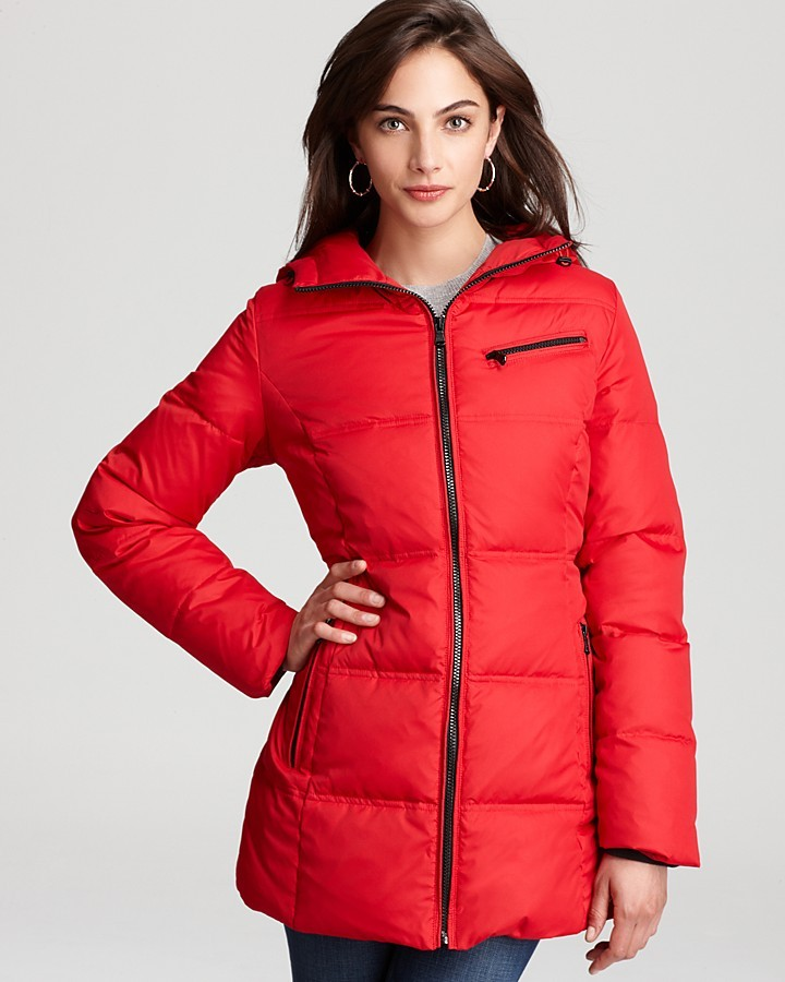 Marc New York Down Coat with Hood