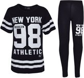 a2z4kids Girls NEW YORK BROOKLYN 98 ATHLECTIC Camouflage Print Top & Legging Set 7-13 Yr