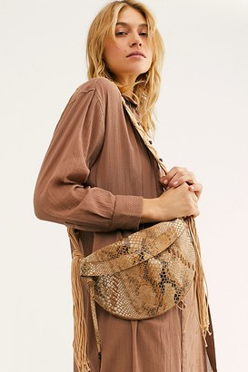 Free People Farrah Macrame Sling Bag