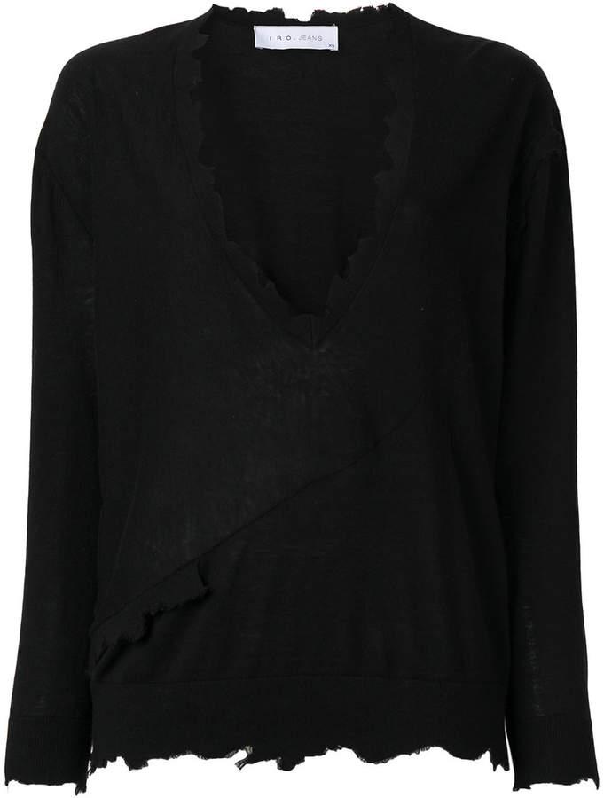 IRO Gnotta knitted top