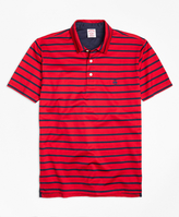 Brooks Brothers Slim Fit Bar Stripe Performance Polo Shirt