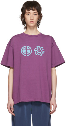 Rassvet Purple Logo T-Shirt