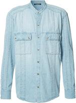 Balmain buttoned shirt - men - Cotton - 40