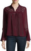 Burgundy Blouse Women - ShopStyle