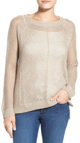 Willow & Clay Open Stitch Sweater