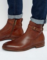 Aldo Tabari Leather Jodphur Boots