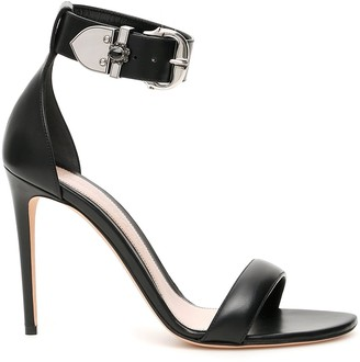 Alexander McQueen Buckled Heeled Sandals