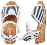 Carter's Striped Espadrille Sandals