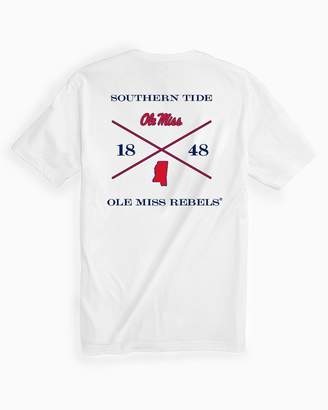 Southern Tide Ole Miss Rebels Short Sleeve T-Shirt
