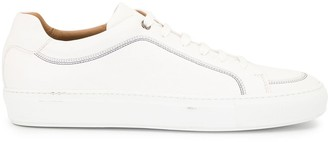 HUGO BOSS Contrast-Stitch Low-Top Trainers
