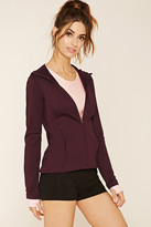 Forever 21 FOREVER 21+ Active Stretch-Knit Hoodie