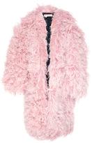 Marni Oversized Goat Fur Coat