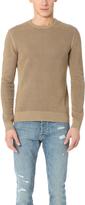 The Kooples Cotton Sweater with Shoulder Zip