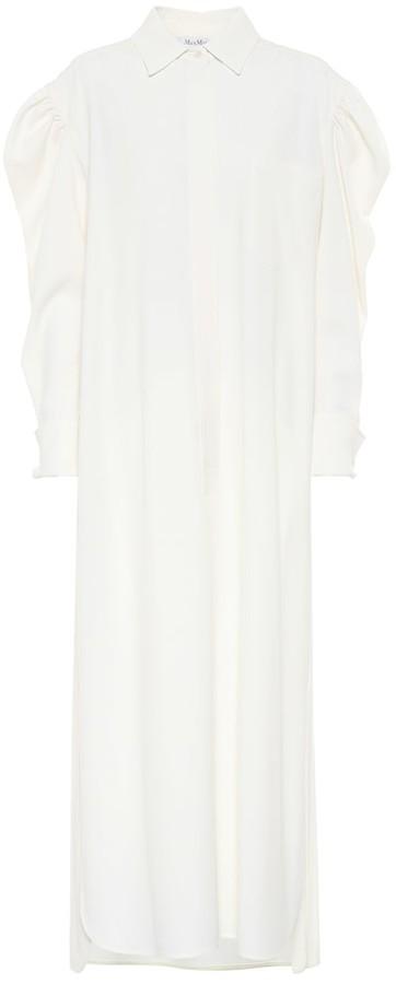 Max Mara Obbia wool shirt dress