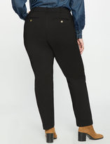ELOQUII Plus Size Kady Fit Double-Weave Pant