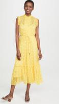 Zimmermann Brightside Frilled Midi Dress