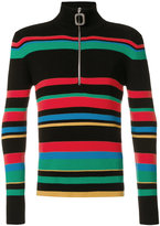 J.W.Anderson striped polo sweater