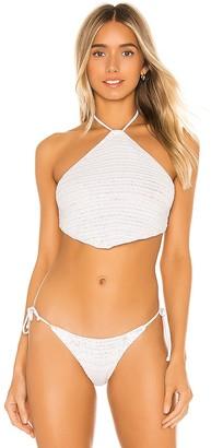 Frankie's Bikinis X REVOLVE Jimi Crochet Bikini Top