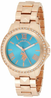 U.S. Polo Assn. Women's USC40079 Rose Gold-Tone Bracelet Watch
