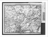 """Snapshots of the Past Historic Print (L): Map of countries bordering on the Mississippi and Missouri"""" Journal of a tour...of Misso"""