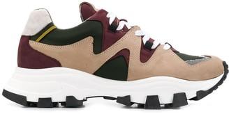 Cinzia Araia colour block chunky sneakers