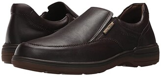 Mephisto Davy (Black Riko) Men's Slip-on Dress Shoes