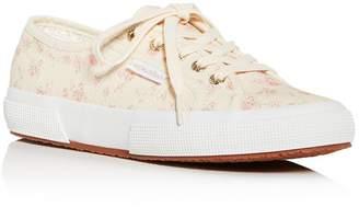 Superga x Loveshack Fancy Women's Floral-Print Low-Top Sneakers