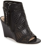 Vince Camuto 'Xabrina' Perforated Wedge Sandal (Women)