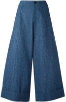 Societe Anonyme 'Berlino' trousers - women - Cotton - 42