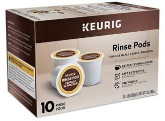 Keurig Set of 10 Rinse Pods